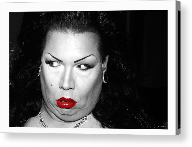 Lady Acrylic Print featuring the photograph Candy 1 by Ruben Flanagan
