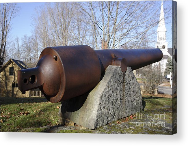 American Acrylic Print featuring the photograph Cannon - York Maine Usa by Erin Paul Donovan