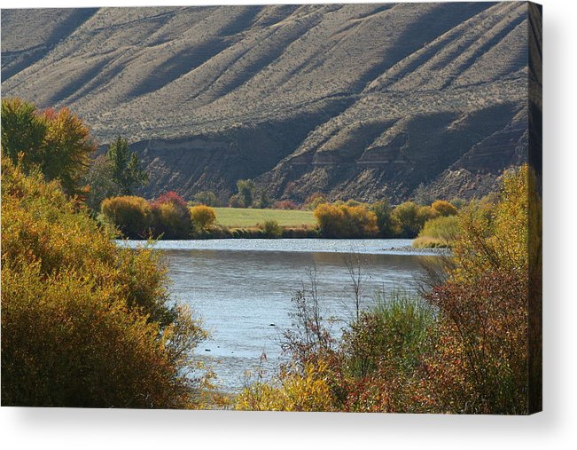 River Acrylic Print featuring the photograph Canyon River by JoJo Photography
