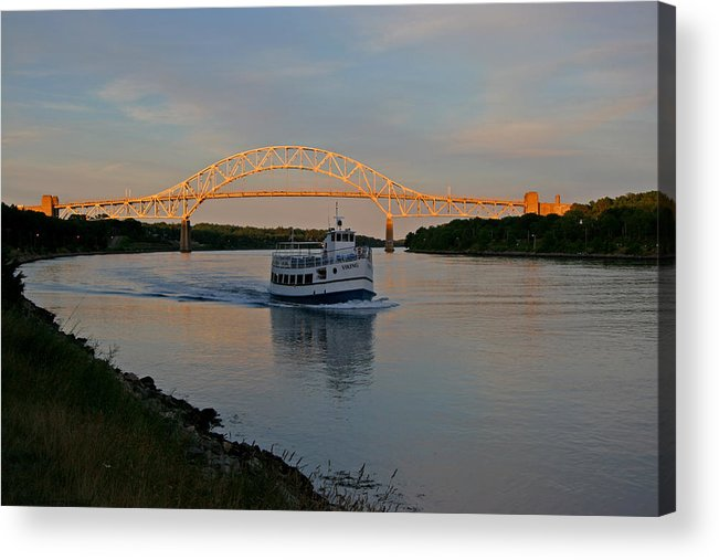 Cape Cod Canal Acrylic Print featuring the photograph Cape Cod Canal, Massachusetts by Bob See