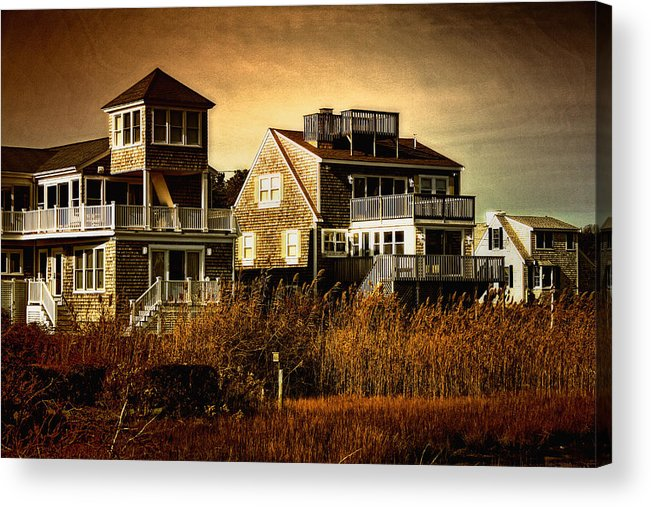 Cape Cod Acrylic Print featuring the photograph Cape Cod Gold by Gina Cormier