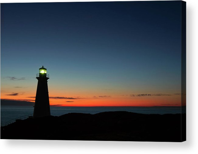 Canada Acrylic Print featuring the photograph Cape Spear Sunrise by Linda Cullivan
