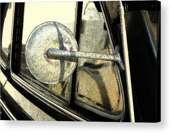 Car Acrylic Print featuring the photograph Car Alfresco I by Kathy Schumann