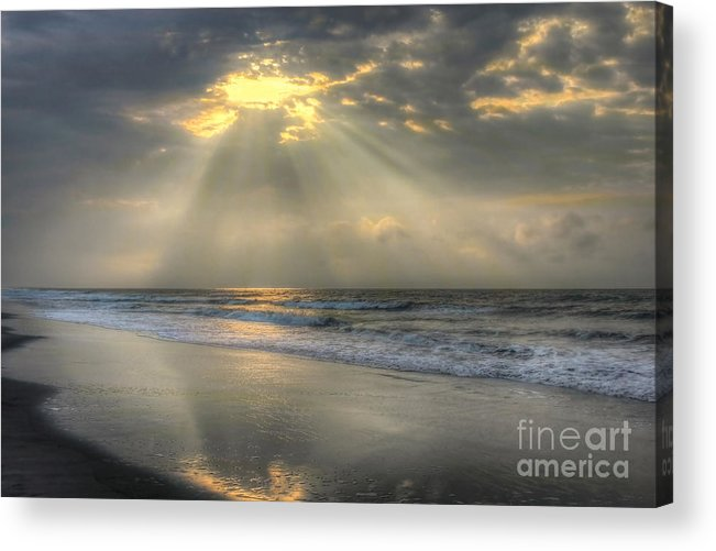 Sunrise Acrylic Print featuring the photograph Carpe Diem by Jeff Breiman