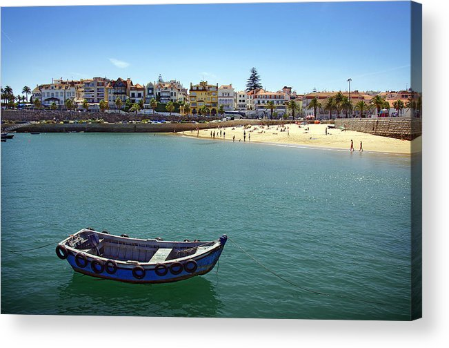 Architecture Acrylic Print featuring the photograph Cascais by Carlos Caetano