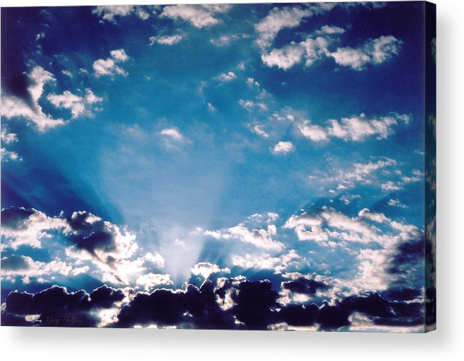Clouds Acrylic Print featuring the photograph Catalina Sunrise by Greg Taylor
