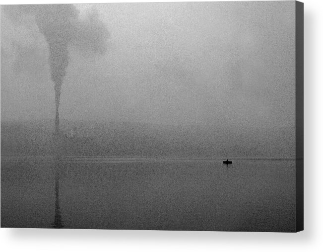 Solitude Acrylic Print featuring the photograph Cayuga Solitude by Jean Macaluso