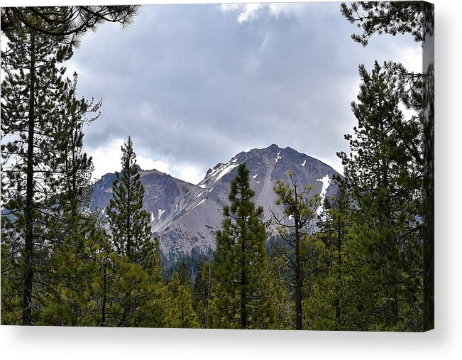Reflection Lake Acrylic Print featuring the photograph Chaos Crags by Sagittarius Viking