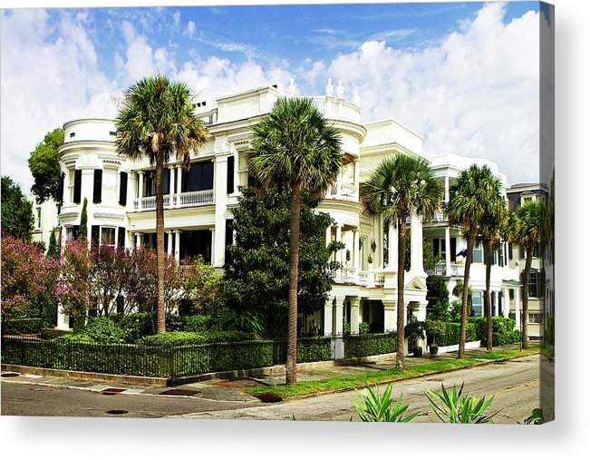Photo Acrylic Print featuring the photograph Charleston Style 4 by Alan Hausenflock