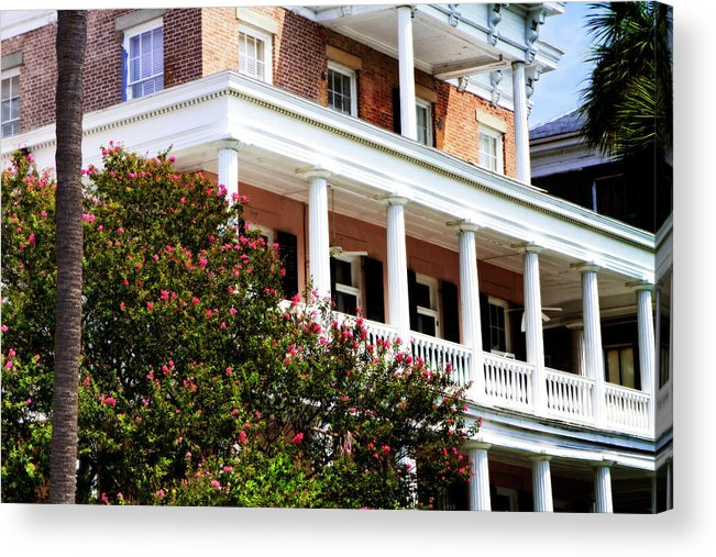 Photo Acrylic Print featuring the photograph Charleston Style 5 by Alan Hausenflock