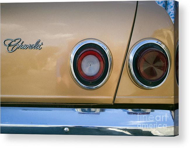 Car Acrylic Print featuring the photograph Chevrolet by Steve Outram