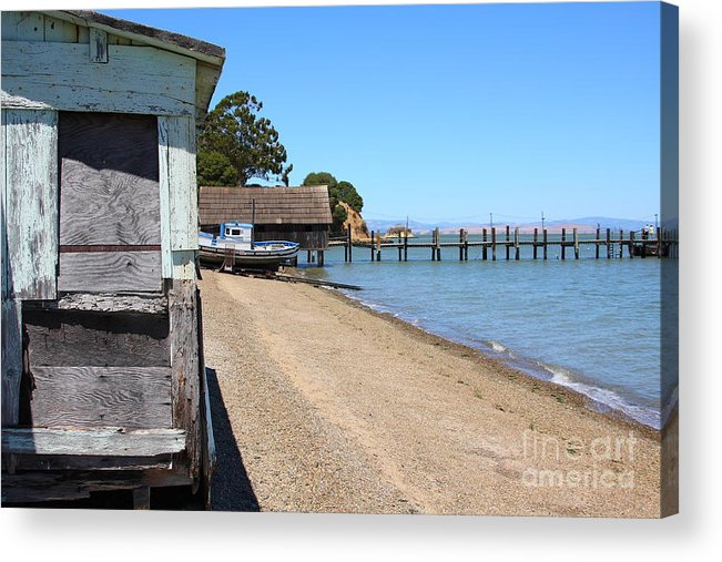 China Camp Acrylic Print featuring the photograph China Camp In Marin Ca by Wingsdomain Art and Photography