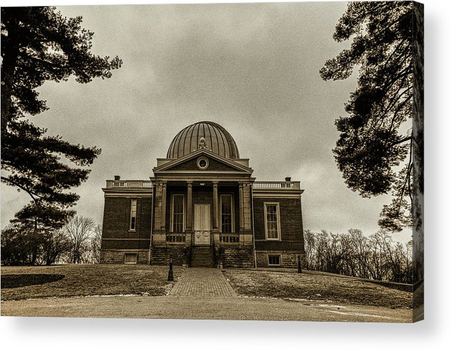 Acrylic Print featuring the photograph Cincinnati Observatory by Jim Figgins