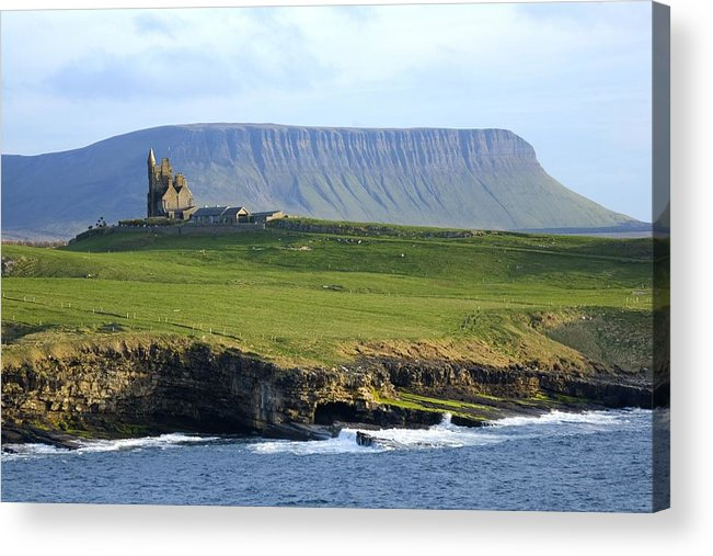 Outdoors Acrylic Print featuring the photograph Classiebawn Castle, Mullaghmore, Co by Gareth McCormack