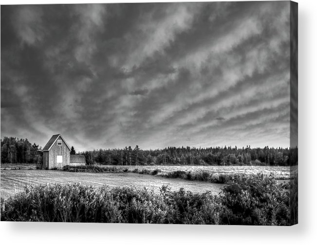 Cablehead Acrylic Print featuring the photograph Cloud Illusion by Elisabeth Van Eyken