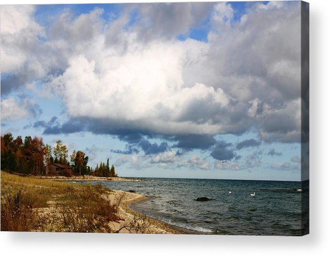 Clouds Acrylic Print featuring the photograph Clouds by Joni Strickfaden