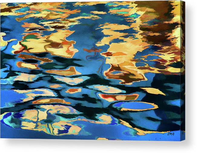 Abstract Acrylic Print featuring the photograph Color Abstraction Lxix by David Gordon