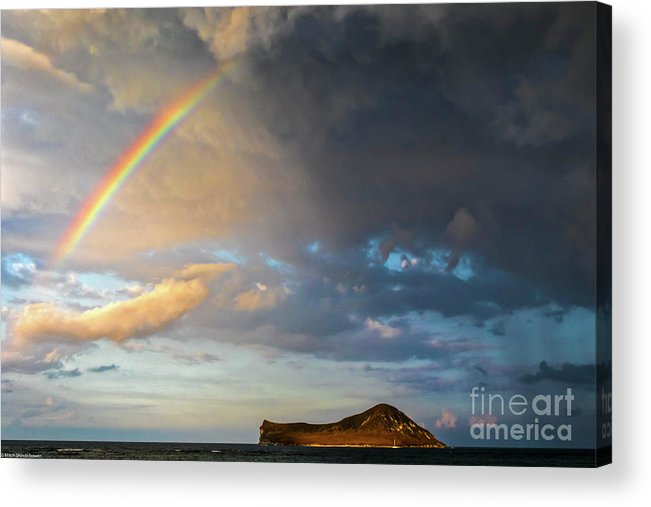 Color Of The Rain Acrylic Print featuring the photograph Color Of The Rain by Mitch Shindelbower
