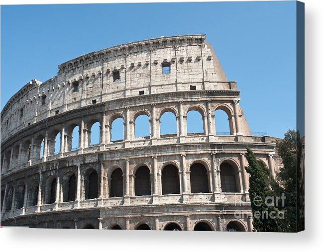 Colosseum Acrylic Print featuring the photograph Colosseo II by Fabrizio Ruggeri