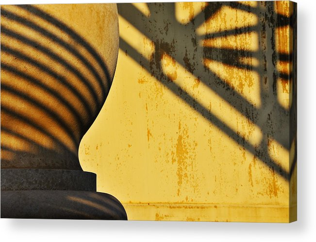 Architecture Acrylic Print featuring the photograph Comb Over by Skip Hunt