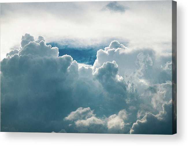 Clouds Acrylic Print featuring the photograph Cotton Clouds by Marc Wieland