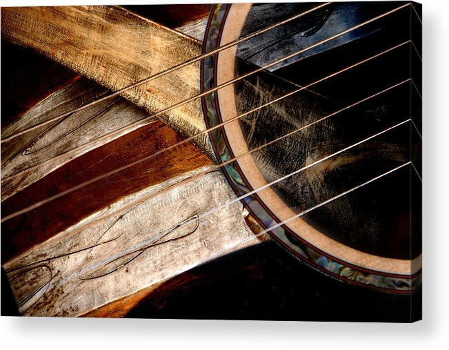 Music Acrylic Print featuring the photograph Country Strummin by Robert Arthur