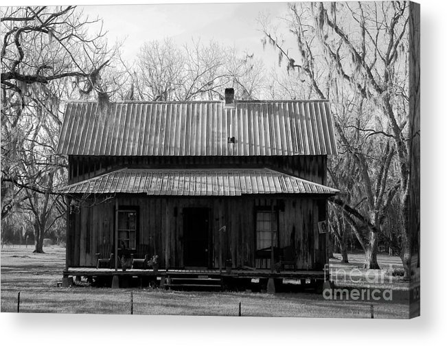 Homestead Acrylic Print featuring the photograph Cracker Cabin by David Lee Thompson