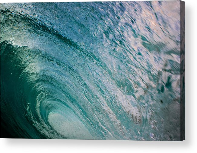 Ocean Acrylic Print featuring the photograph Crystal Ceiling by JJ Tondo