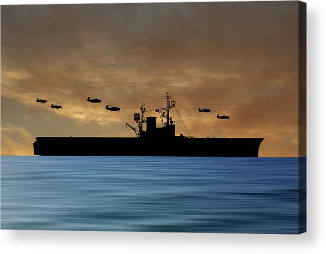 Cus Woodrow Wilson Acrylic Print featuring the photograph Cus Woodrow Wilson 1944 V2 by Smart Aviation