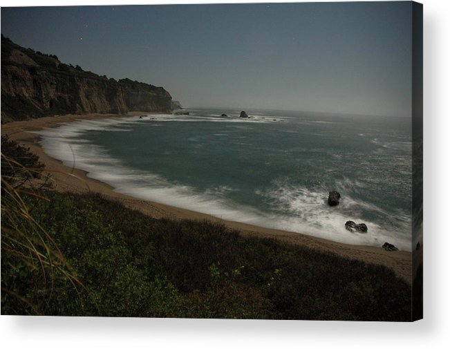 Night Acrylic Print featuring the photograph Davenport Nightscape by John Finch