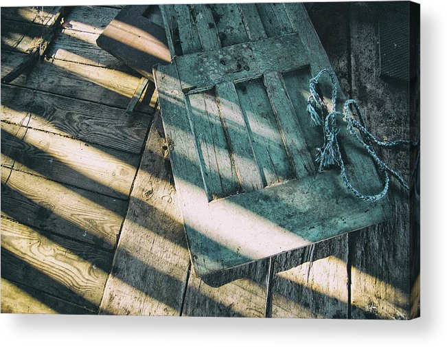 Acrylic Print featuring the photograph Door On The Floor by Marvin Borst