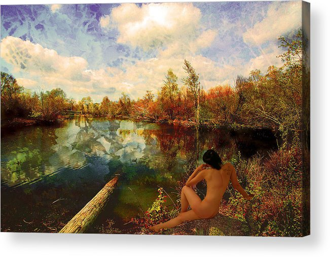 Lake Acrylic Print featuring the photograph Dreaming by Jeff Burgess
