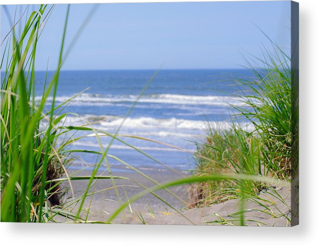 Summer Acrylic Print featuring the photograph Dreaming Of Summer by Tikvah's Hope