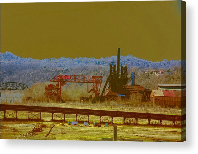 Mills Acrylic Print featuring the photograph Dreams Of The Past by John Toxey