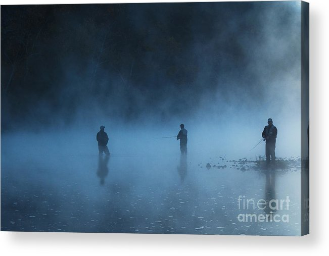 Tamyra Ayles Acrylic Print featuring the photograph Early Morning Fishing by Tamyra Ayles