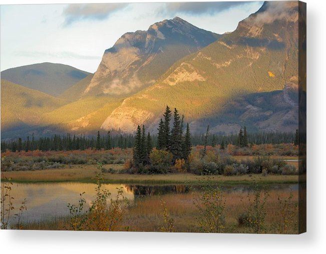 Jasper Acrylic Print featuring the photograph Early Morning In Jasper by Doris Potter