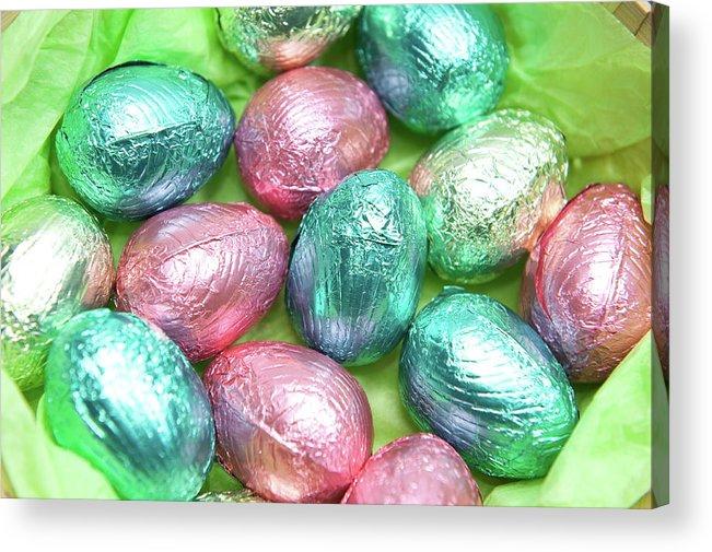 Helen Northcott Acrylic Print featuring the photograph Easter Eggs Viii by Helen Northcott
