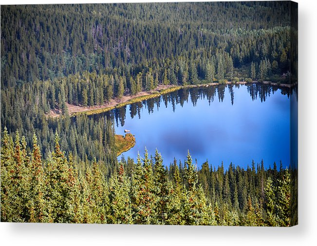 Mount Evans Acrylic Print featuring the photograph Echo Lake 7 by Angelina Vick