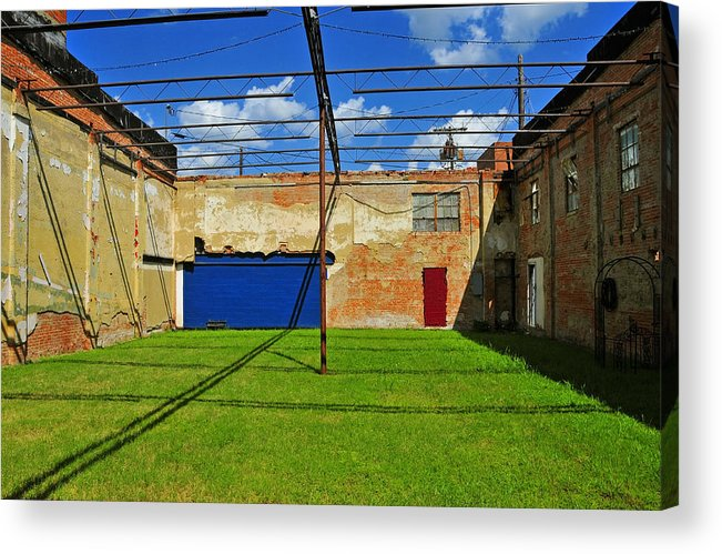 Skiphunt Acrylic Print featuring the photograph Eco-store by Skip Hunt