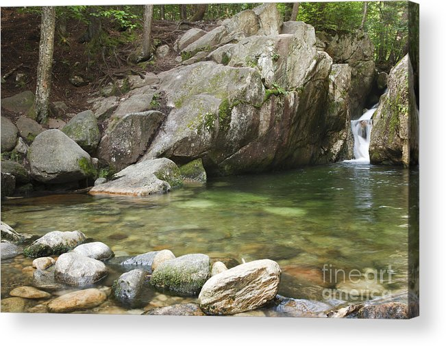 Hike Acrylic Print featuring the photograph Emerald Pool - White Mountains New Hampshire Usa by Erin Paul Donovan