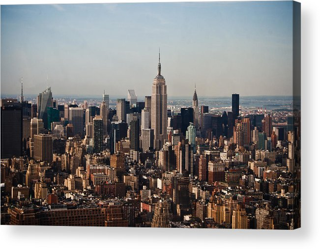Nyc Acrylic Print featuring the photograph Empire State Of Mind by Robert J Caputo
