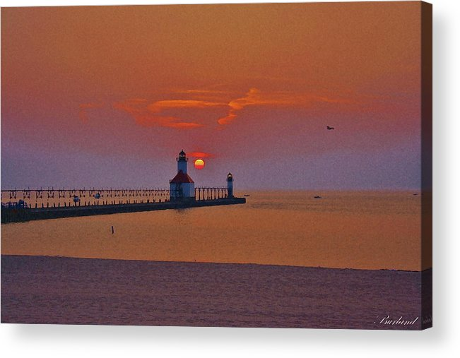 Burland Acrylic Print featuring the photograph Endless Evening by Burland McCormick