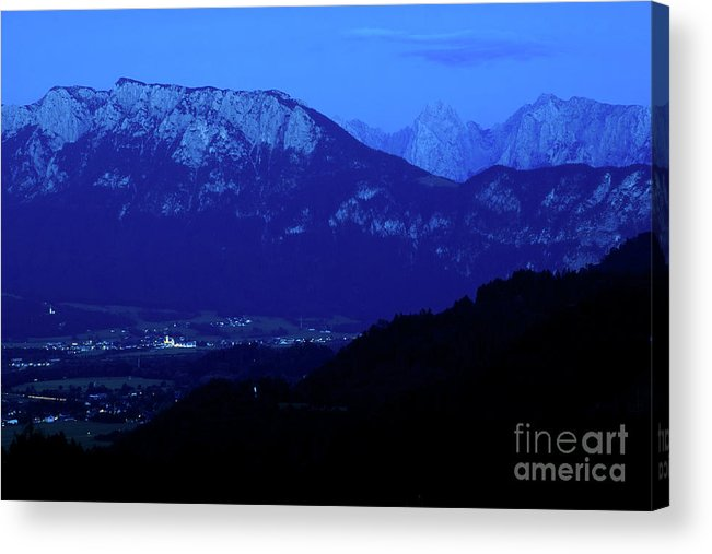Dusk Acrylic Print featuring the photograph Evening by Pit Hermann