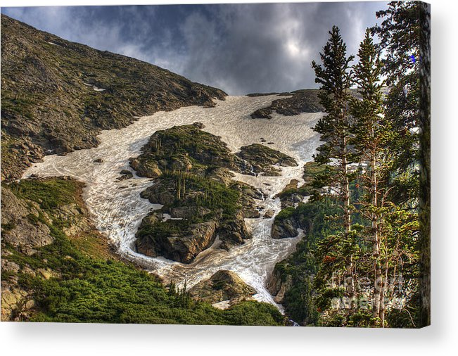 Landscape Acrylic Print featuring the photograph Extreme Trail by Pete Hellmann