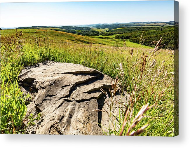 Prairie Acrylic Print featuring the photograph Foothills View by Ross Galway