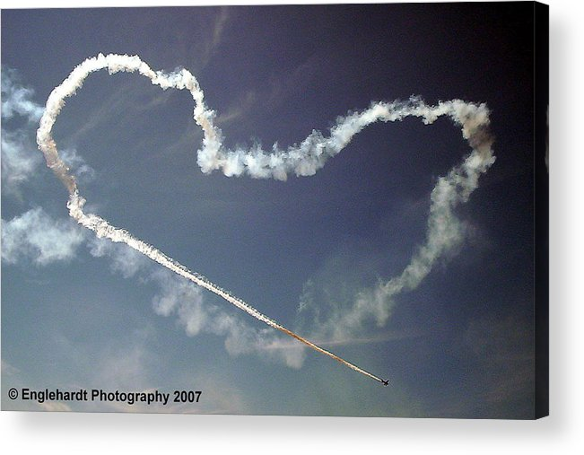 Aviation Acrylic Print featuring the photograph For The Love Of Flight by Jennifer Englehardt