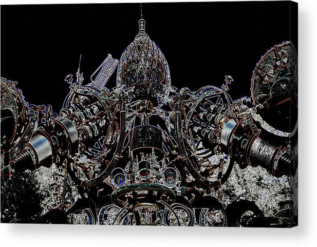 Dr. Evermor Acrylic Print featuring the photograph Forevertron by Tya Kottler