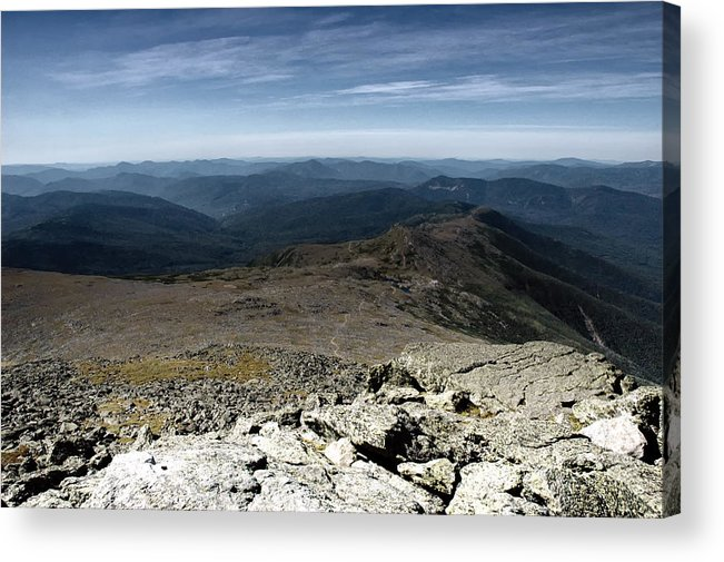 Mountains Acrylic Print featuring the photograph From The Summit by Ross Powell