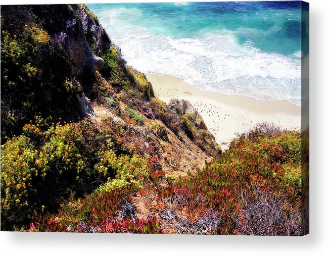 Photo Acrylic Print featuring the photograph Garrapata Highlands 3 by Alan Hausenflock