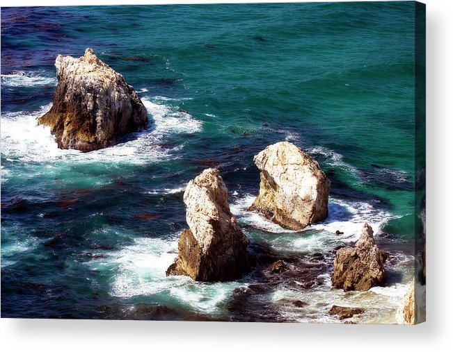 Photo Acrylic Print featuring the photograph Garrapata Highlands 9 by Alan Hausenflock